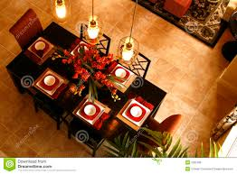 dining table from above royalty free stock image image 2337296