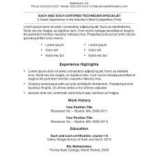 Open Office Resume Templates Free Free Easy Resume Resume Template And Professional Resume