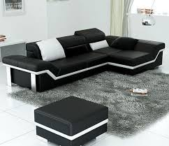 Black And White Sectional Sofa Black And White Sectional Sofas Www Energywarden Net