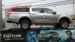 mitsubishi pickup 2016 mitsubishi triton dc 4wd pmma canopy 2016 by worldstyling com