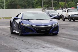 acura supercar the acura nsx is ready for winter and here u0027s why autoguide com news