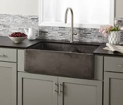 Farmhouse Double Bowl Concrete Kitchen Sink Native Trails - Farmhouse double bowl kitchen sink