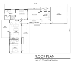 Plans Com Contemporary Style House Plan 3 Beds 3 00 Baths 1335 Sq Ft Plan