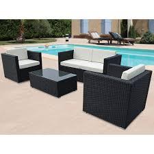 canape tresse exterieur meuble de jardin resine canape d exterieur promo horenove