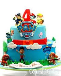 childrens birthday cakes girls boys paw patrol birthday