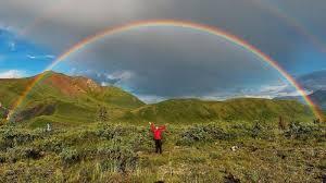 circle rainbow earth earthsky