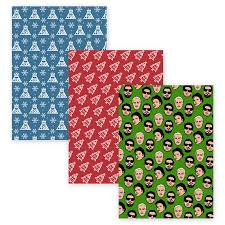 wrapping paper wrapping paper accessories fall out boy