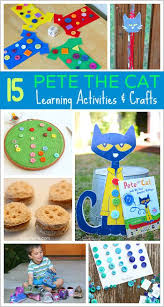15 pete the cat learning activities and crafts for buggy