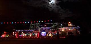 Riverside Light Show by Best Christmas Lights And Holiday Displays In Pleasant Hill
