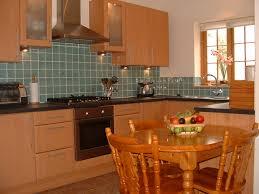 ceramic tile backsplash enjoy cooking in this large kitchen with