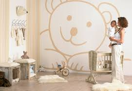 kids bedroom bear wall decal nursery room ideas design with warm bear wall decal nursery room ideas design with warm beige color themes and
