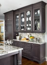 Best  Dark Kitchen Cabinets Ideas On Pinterest Dark Cabinets - Gray cabinets kitchen