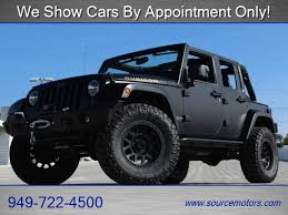 orange jeep wrangler unlimited for sale 2013 jeep wrangler unlimited rubicon for sale in orange county ca