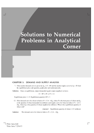 economics solutions manual