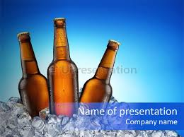 cold beer powerpoint template id 0000011094 upresentation com