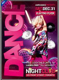 dance poster template u2013 33 free psd indesign format download