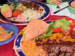 thanksgiving dinner plate and steak plate picture of mi tierra