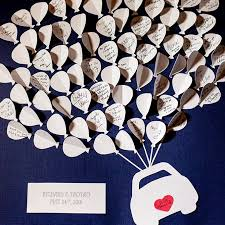 alternative guest book ideas brides