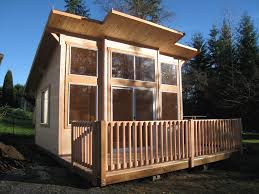 modern outdoor design with prefab wooden garage kits vinyl