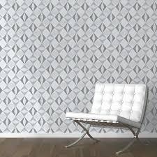 papier peint intissé chambre adulte papier peint origami losanges gris leroy merlin papier peint