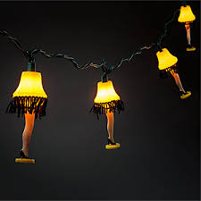 a christmas story leg l lights home office lighting thinkgeek