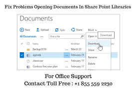Microsoft Office Help Desk How To Fix Problems Opening Documents In Share Point Libraries