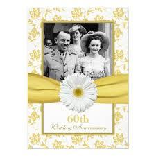60th wedding anniversary invitations personalized 60th wedding anniversary invitations
