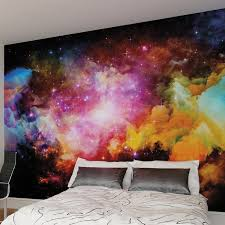 galaxy wall mural hokku designs galaxy wall mural reviews wayfair co uk