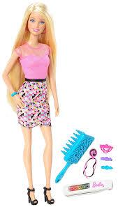 amazon barbie rainbow hair doll toys u0026 games