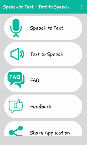 voice to text text to speech android apps on google play
