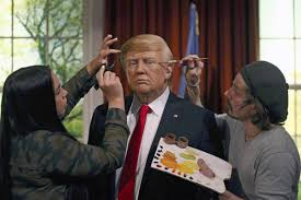 wax donald trump moves into oval office at madame tussauds nbc news