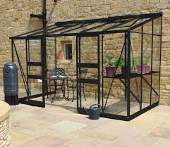 Palram Lean To Greenhouse Eden Broadway 12ft X 6ft Lean To Greenhouse With Black Frame