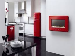 Kitchen Cabinets Red Using Red Kitchen Accessories