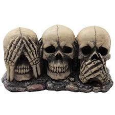 scary skeleton decorations for halloween or year round fun