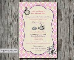 mad hatter tea party invitations printable template tea party baby shower invitations