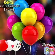 cheap balloon delivery service plans led light up balloons blinking party