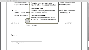 Termination Of Lease Notice by Arizona 30 Day Notice Of Expiration Of Lease And Non Renewal