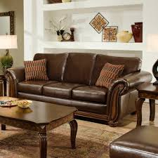luxurious brown leather sofa set decorating ideas