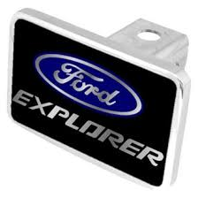 ford explorer logo 2017 ford explorer tow hitch covers lighted custom styles logos