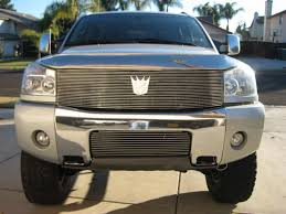 nissan frontier front grill i absolutly gotta have one of those decepticon grilles nissan