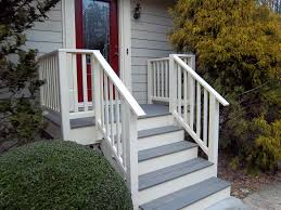 Front Door Porch Designs by Exterior Handrails For Steps Surprising On Modern Home Decoration