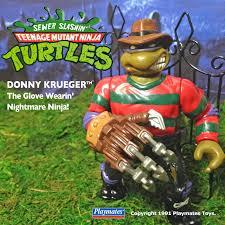 Death By Toys New Customs Ninja Turtles Based On Horror Movies