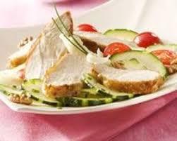 cuisine plancha facile recette salade de suprêmes de pintade grillés à la plancha facile