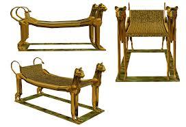 egyptian furniture buscar con google arte egipcio pinterest