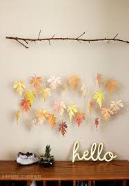 30 fall leaf crafts diy decorating projects leaves