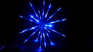 blue led lights sale with white wireblue