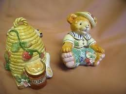 fitz and floyd somerset salt and pepper shaker set ebay