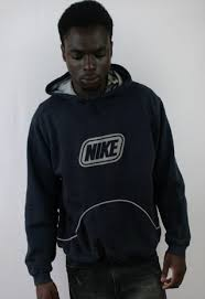 mens vintage nike hoodie medium jumper athletic sport loose