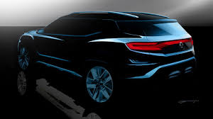 ssangyong ssangyong xavl at the 2017 geneva motor show by car magazine