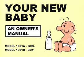 your new baby an owner u0027s manual amazon co uk martin baxendale